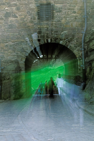 image 1-510-36 Scotland, Edinburgh, Edinburgh Castle, Portcullis Gate