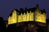 illuminated stock photography | Scotland, Edinburgh, Edinburgh Castle, image id 1-510-51