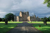 grey sky stock photography | Scotland, Angus, Glamis Castle, image id 1-520-67
