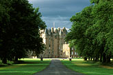 grey sky stock photography | Scotland, Angus, Glamis Castle, image id 1-520-73