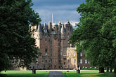 grey sky stock photography | Scotland, Angus, Glamis Castle, image id 1-520-77