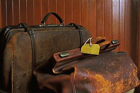 image 1-530-55 Scotland , Old luggage