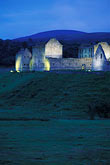 illuminated stock photography | Scotland, Inverness-shire, Ruthven Barracks, Kingussie, image id 1-541-3
