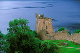 lakeside stock photography | Scotland, Loch Ness, Urquhart Castle, Drumnadrochit, image id 1-550-5
