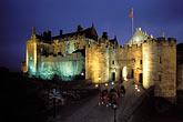 illuminated stock photography | Scotland, Stirling, Stirling Castle, image id 1-555-60