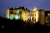 illuminated stock photography | Scotland, Stirling, Stirling Castle, image id 1-556-1
