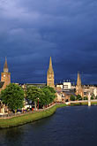 inclement weather stock photography | Scotland, Inverness, City skyline, image id 1-560-11