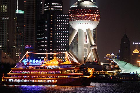 image 7-620-3137 China, Shanghai, Oriental Pearl Tower, Pudong