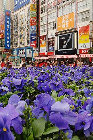 image 7-620-3184 China, Shanghai, Nanjing Road, Pedestrian shopping street