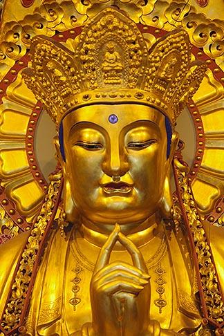 image 7-620-34 China, Shanghai, Buddha, Longhua Temple