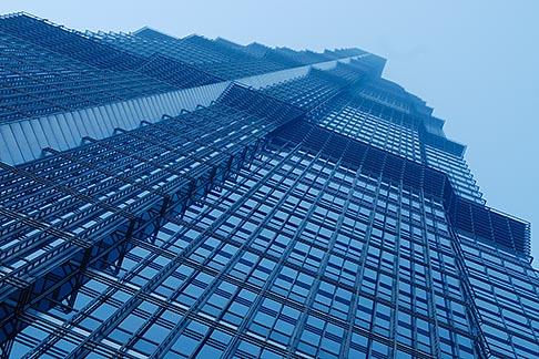 image 7-620-4956 China, Shanghai, Jin Mao Tower, Pudong