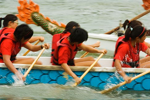 image 7-680-4445 Singapore, Dragon boat race