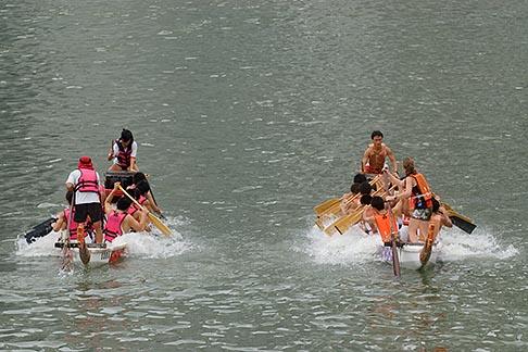image 7-680-8760 Singapore, Dragon boat race