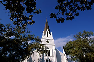 1-410-12 stock photo of South Africa, Stellenbosch, Dutch Reformed Church, 1863
