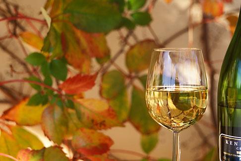 image 1-411-24 Wine, Glass of Chenin Blanc, white wine