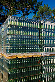wine estate stock photography | South Africa, Helderberg, Pallet of bottles, Vergelegen Wine Estate, image id 1-419-22