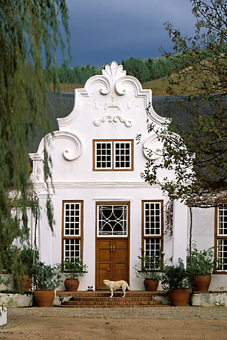 image 1-419-78 South Africa, Helderberg, Homestead, Morgenster Wine Estate