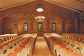 architecture stock photography | South Africa, Stellenbosch, Barrel cellar, Waterford Winery , image id 1-420-61