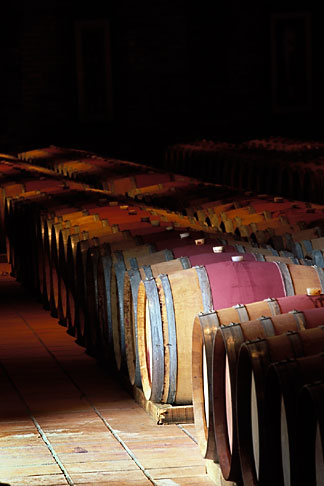 image 1-420-64 South Africa, Stellenbosch, Barrel cellar, Waterford Winery