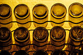 yellow stock photography | South Africa, Stellenbosch, Wine bottles, image id 1-422-33