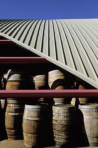 image 1-422-65 South Africa, Robertson, Barrel storage, Graham Beck Winery