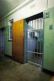 barred stock photography | South Africa, Robben Island, Nelson Mandela