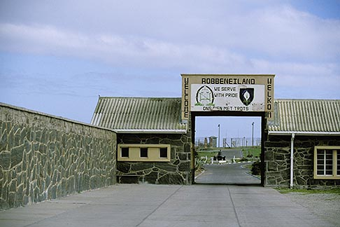 image 1-430-56 South Africa, Robben Island, Entrance gate