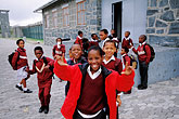 teenage girl stock photography | South Africa, Robben Island, School group, image id 1-430-59
