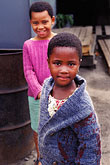 two stock photography | South Africa, Cape Town, Xhosa children, Langa township, image id 5-458-22