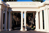 facade stock photography | South Africa, Cape Town, Entrance , Mount Nelson Hotel, image id 5-476-46