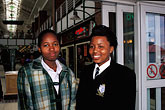 two people stock photography | South Africa, Cape Town, Schoolgirls, Victoria and Alfred waterfront, image id 5-486-21