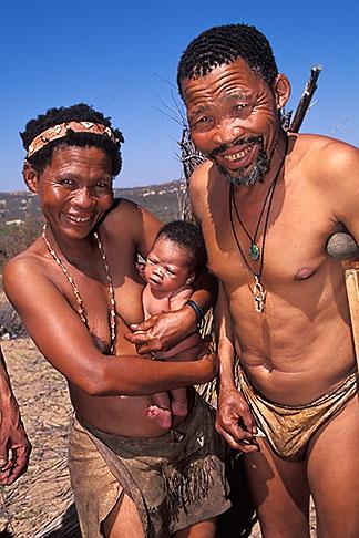 image 5-493-17 South Africa, Western Cape, Bushman family, Kagga Kamma