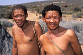 two people stock photography | South Africa, Western Cape, Bushmen, Kagga Kamma, image id 5-493-20