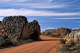stone stock photography | South Africa, Western Cape, Road, Cedarberg Karoo, image id 5-495-27