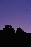 crescent moon stock photography | South Africa, Western Cape, Rock formation, Kagga Kamma, image id 5-504-5