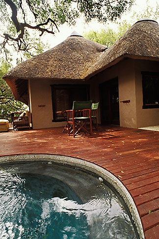 image 7-426-20 South Africa, Transvaal, Pool, Tree Camp, Londolozi Reserve
