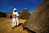 one woman only stock photography | South Africa, Eastern Cape, Kaya Lendaba healing village, image id 7-440-33