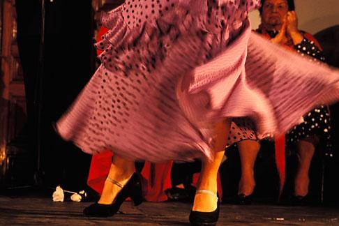 image 1-200-1 Spain, Jerez, Flamenco dancer