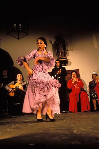 image 1-200-43 Spain, Jerez, Zambra del Sacromonte, flamenco group