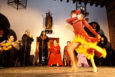 forceful stock photography | Spain, Jerez, Zambra del Sacromonte, flamenco group, image id 1-201-6