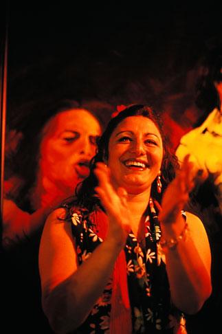 image 1-203-87 Spain, Jerez, Pena la Buena Gente, flamenco