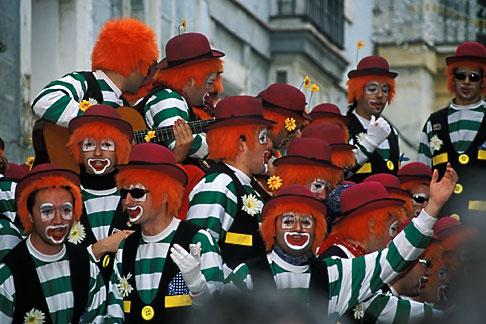 image 1-210-14 Spain, Cadiz, Carnival
