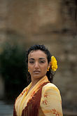 one lady stock photography | Spain, Seville, Flamenco dancer, image id 1-254-90