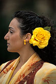 yellow stock photography | Spain, Seville, Flamenco dancer, image id 1-254-95