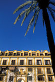 palms stock photography | Spain, Seville, Historic building, image id 1-256-91