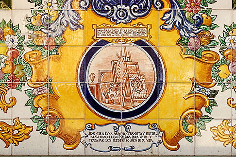 image S4-530-9000 Spain, Malaga, Tiles