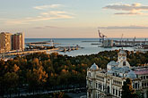malaga stock photography | Spain, Malaga, View of the port, image id S4-530-9038
