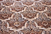 horizontal stock photography | Spain, Granada, Wall Detail, Palacio Nazaries, The Alhambra, image id S4-540-9821