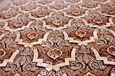 close up stock photography | Spain, Granada, Wall Detail, The Alhambra, image id S4-540-9823