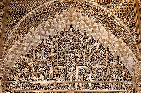 image S4-540-9891 Spain, Granada, Detail, The Alhambra